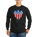 Gingrich Long Sleeve Dark T-Shirt