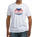 Newt Gingrich Fitted T-Shirt