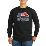 Gingrich for President Long Sleeve Dark T-Shirt