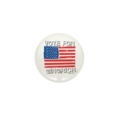 Vote for Gingrich Mini Button (10 pack)