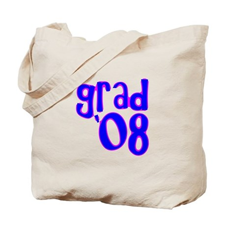 Grad 08 - Blue - Tote Bag