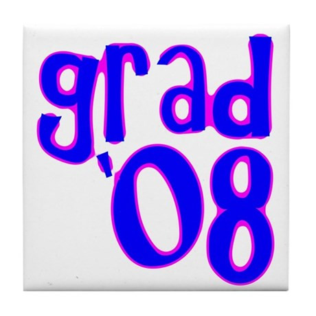 Grad 08 - Blue - Tile Coaster