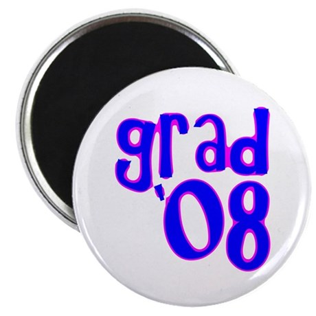 Grad 08 - Blue - 2.25&quot; Magnet (10 pack)