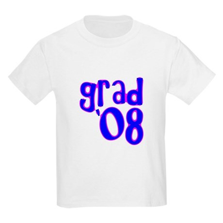 Grad 08 - Blue - Kids Light T-Shirt