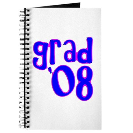 Grad 08 - Blue - Journal