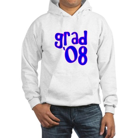 Grad 08 - Blue - Hooded Sweatshirt
