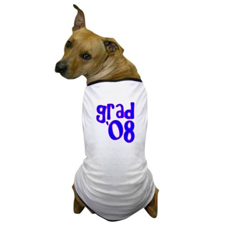 Grad 08 - Blue - Dog T-Shirt
