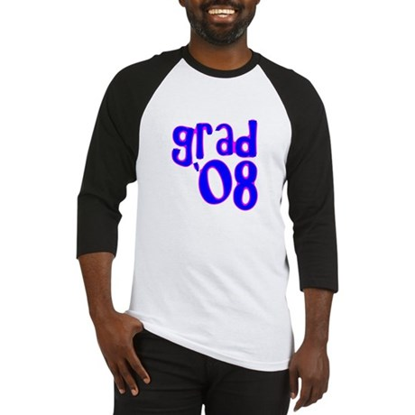 Grad 08 - Blue - Baseball Jersey