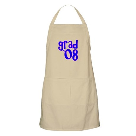 Grad 08 - Blue - BBQ Apron