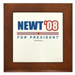 Newt 08 Framed Tile
