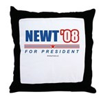 Newt 08 Throw Pillow