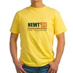 Newt 08 Yellow T-Shirt
