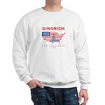 Gingrich for President Sweatshirt