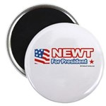 Newt for President Magnet