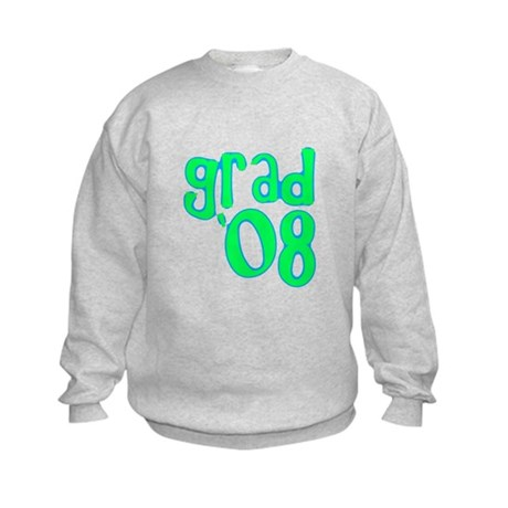Grad 08 - Lime - Kids Sweatshirt