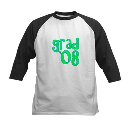 Grad 08 - Lime - Kids Baseball Jersey