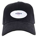 Support Gingrich Black Cap