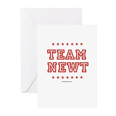 Team Newt Greeting Cards (Pk of 20)