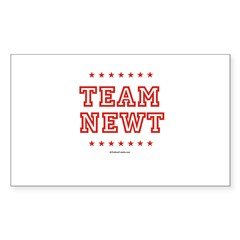 Team Newt Rectangle Sticker
