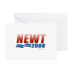 Newt 2008 Greeting Card