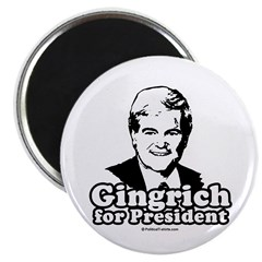 "Gingrich for President 2.25"" Magnet (10 pack)"