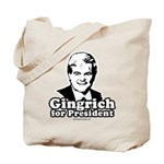Gingrich for President Tote Bag