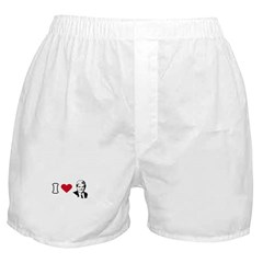 I Love Newt Boxer Shorts
