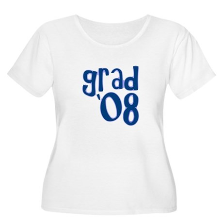 Grad 08 - Slate - Women's Plus Size Scoop Neck T-