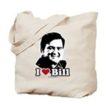 I Love Bill Richardson Tote Bag