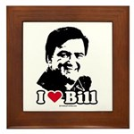 I Love Bill Richardson Framed Tile