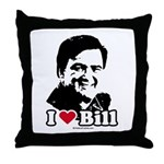 I Love Bill Richardson Throw Pillow