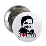 I Love Bill Richardson Button
