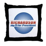 Richardson for President Throw Pillow