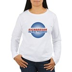 Richardson for President Women's Long Sleeve T-Shi