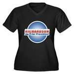 Richardson for President Women's Plus Size V-Neck