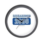 Richardson 2008 Wall Clock