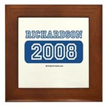 Richardson 2008 Framed Tile