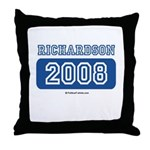 Richardson 2008 Throw Pillow