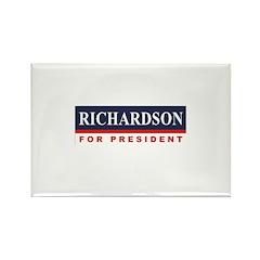 Richardson for President Rectangle Magnet (100 pac