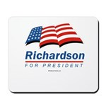 Richardson for President Mousepad