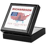 Richardson for President Keepsake Box