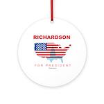 Richardson for President Ornament (Round)