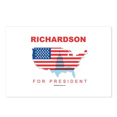 Richardson for President Postcards (Package of 8)