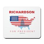 Richardson for President Mousepad