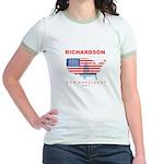 Richardson for President Jr. Ringer T-Shirt