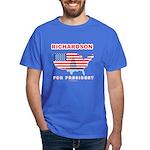 Richardson for President Dark T-Shirt