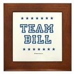 Team Bill Framed Tile