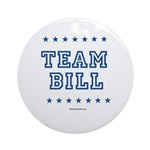 Team Bill Ornament (Round)