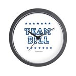 Team Bill Wall Clock