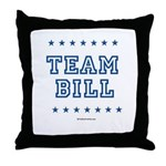 Team Bill Throw Pillow